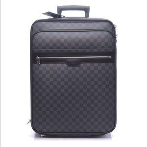 PRISTINE Louis Vuitton Damier Pegase Luggage